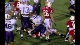 d9258636e 1991 college football DVD 1991 regular season DVD. 1991 Washington at  Nebraska football DVD.